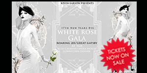 white rose gala